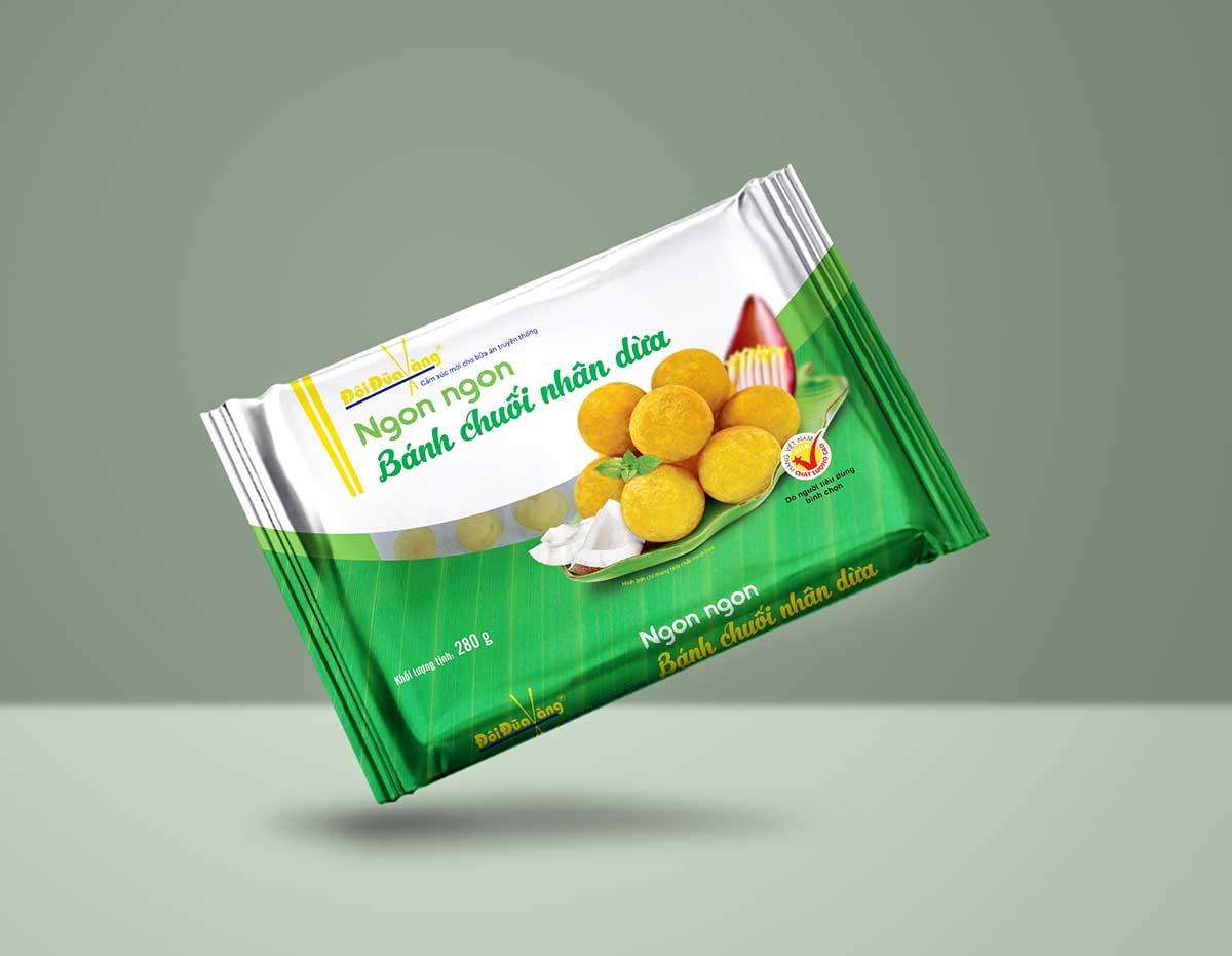 Bánh chuối nhân dừa
