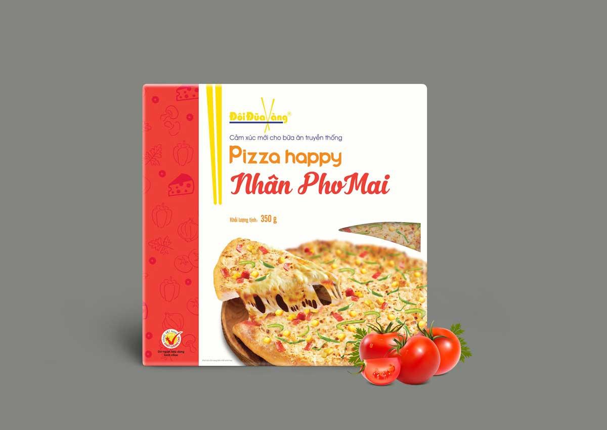 pizza nhân phô mai