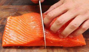 cách chế biến cá hồi phi lê